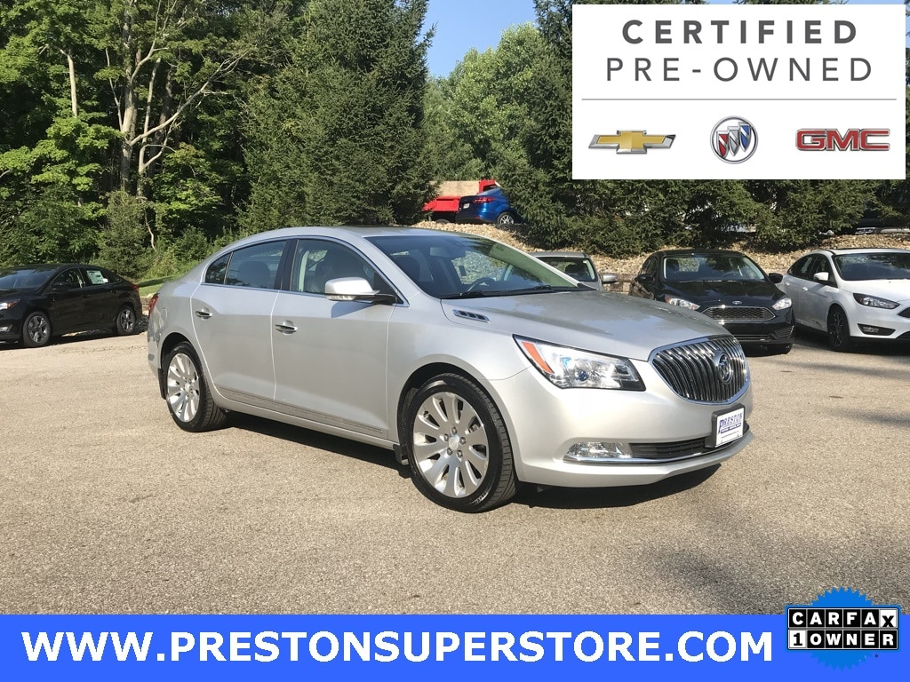Photo Certified Used 2014 Buick Lacrosse Leather Group Sedan in Burton, OH
