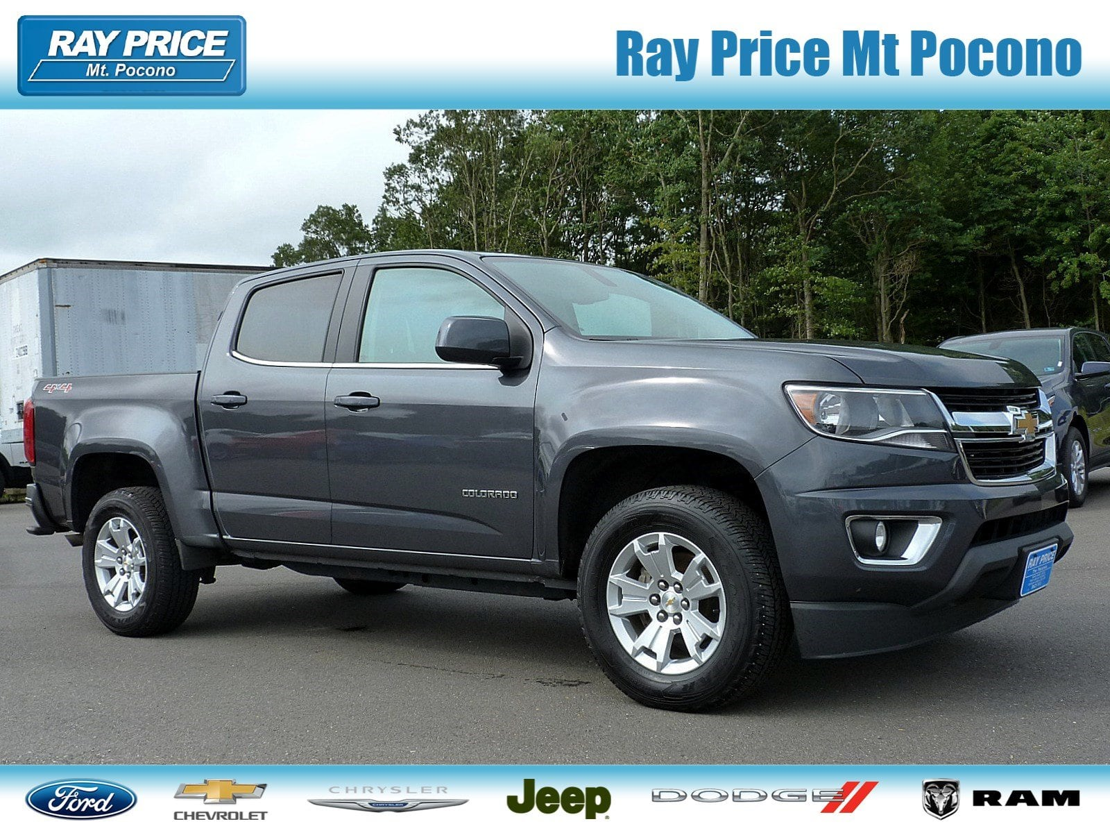 Photo Used 2016 Chevrolet Colorado LT For Sale Stroudsburg, PA