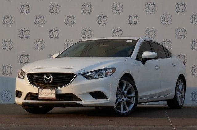 Photo Pre-Owned 2015 Mazda Mazda6 i Touring Sedan For Sale in Frisco TX