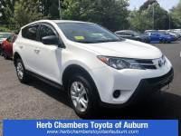Used 2015 Toyota RAV4 LE SUV Front-wheel Drive in Auburn, MA