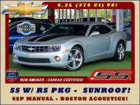 2011 Chevrolet Camaro 1SS/SS RS - SUNROOF - BOSTON ACOUSTICS - 1 OWNER!