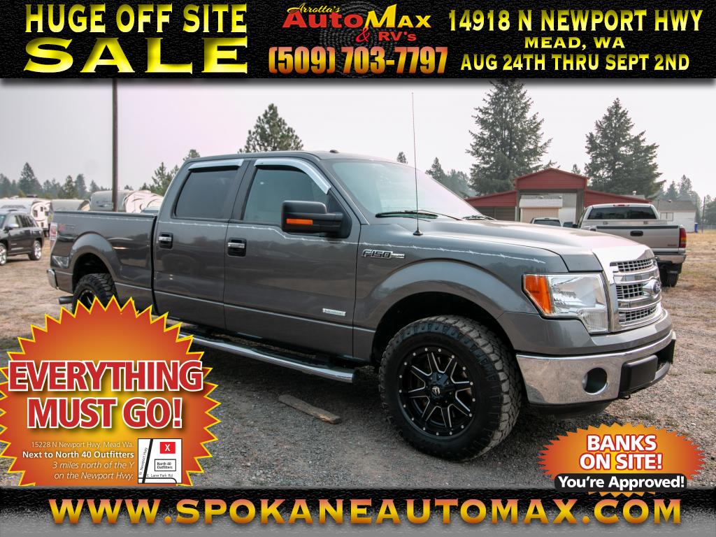 Photo 2014 Ford F-150 XLT 4x4 3.5L V6 EcoBoost Pickup