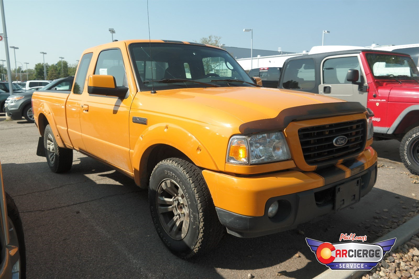 Photo Pre-Owned 2009 Ford Ranger Sport 4-Wheel Drive Extended Cab Pickup
