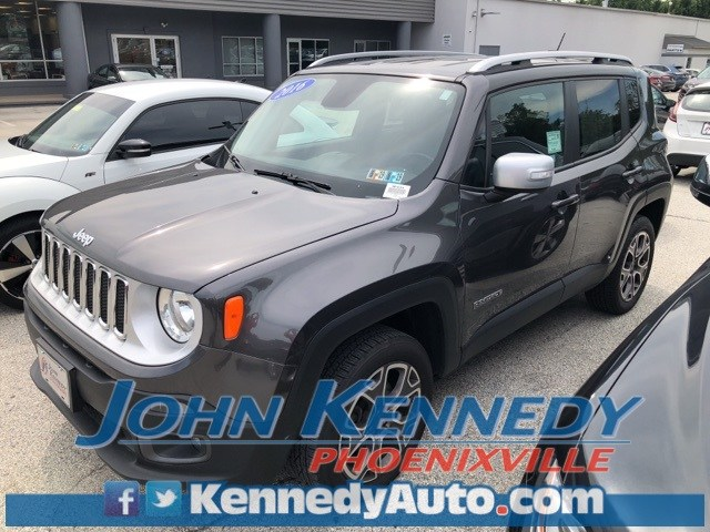 Photo Used 2016 Jeep Renegade Limited SUV I4 MultiAir For Sale Phoenixville, PA
