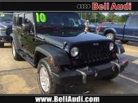 Pre-Owned 2010 Jeep Wrangler Unlimited Sport SUV for Sale in Edison near Highland Park