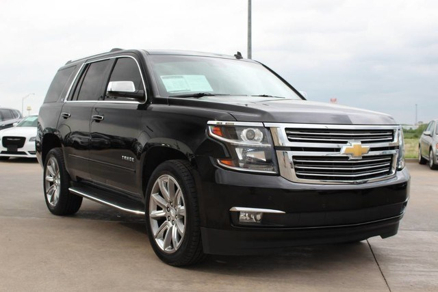 Photo Used 2015 Chevrolet Tahoe 4WD TOP OF THE LINE LUXURY LIKE BRAND NEW LEATHER in Ardmore, OK