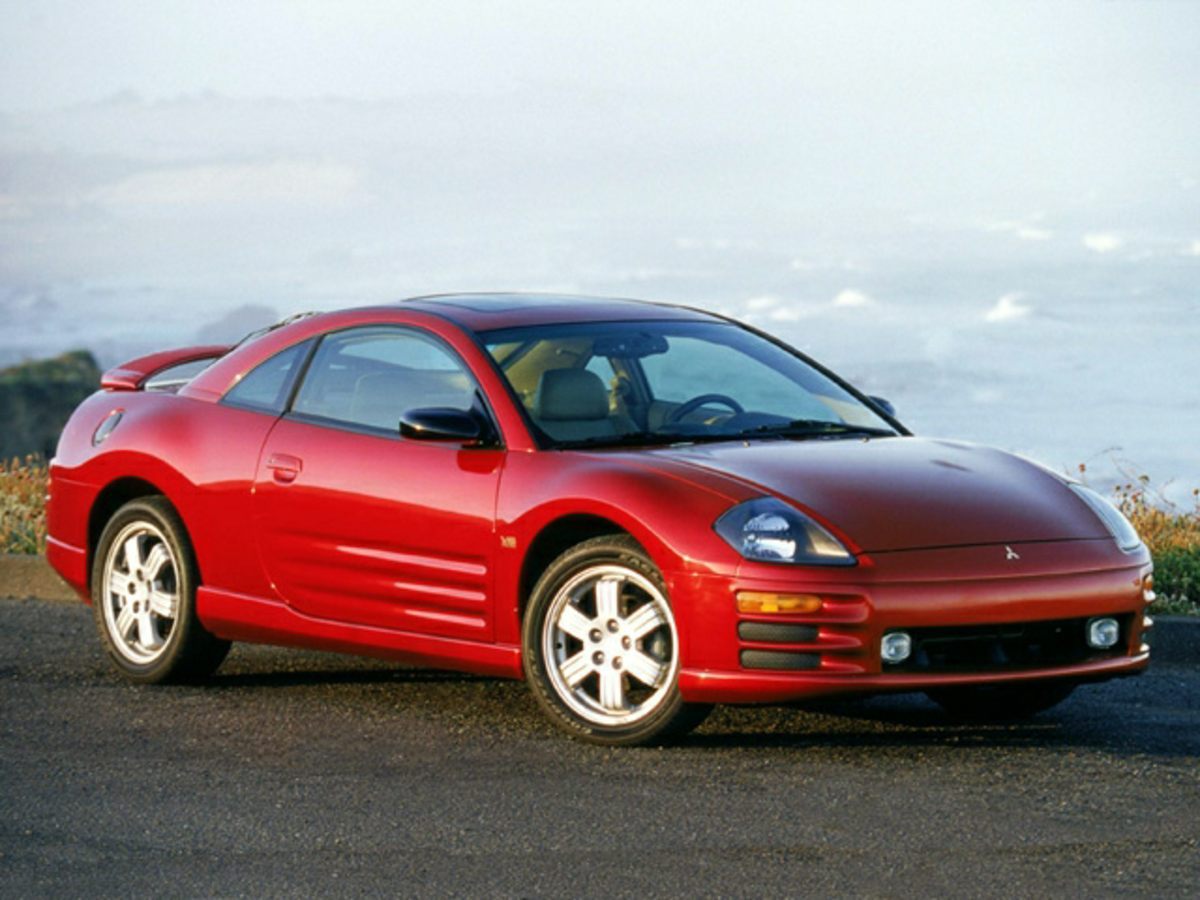 Photo Pre-Owned 2002 Mitsubishi Eclipse GS FWD 2D Coupe