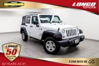 Used 2016 Jeep Wrangler Unlimited 4WD Sport in El Monte