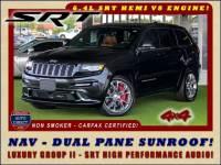 2015 Jeep Grand Cherokee SRT 4X4 - LUXURY GROUP II - PANORAMIC SUNROOF!