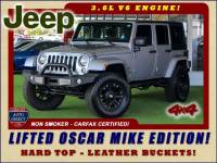 2015 Jeep Wrangler Unlimited Freedom Edition 4X4 - LIFTED OSCAR MIKE EDITION!