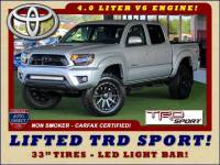 2012 Toyota Tacoma PreRunner Double Cab RWD - LIFTED TRD SPORT!