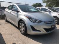 Certified Used 2016 Hyundai Elantra SE Sedan For Sale Austin TX
