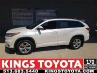 Used 2014 Toyota Highlander Limited Platinum V6 in Cincinnati, OH