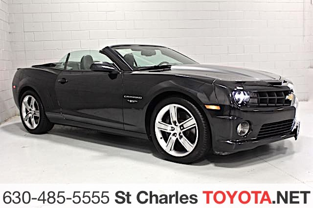 Photo Pre-Owned 2012 Chevrolet Camaro SS RWD Convertible