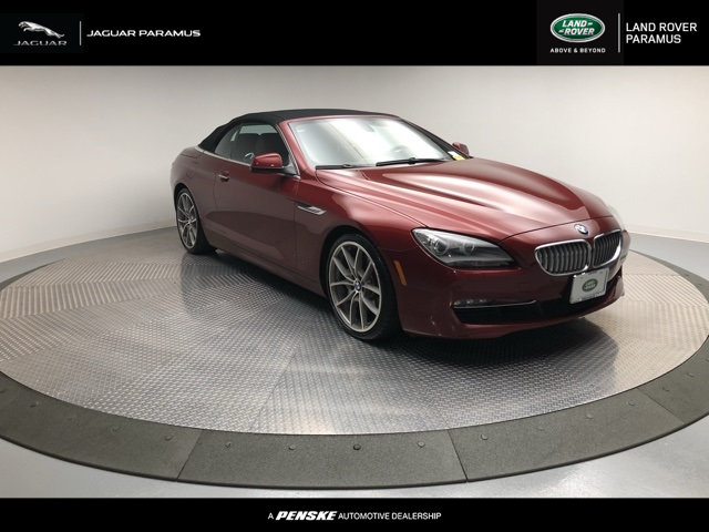 Photo Pre-Owned 2012 BMW 6 Series 650i Rear Wheel Drive Convertible