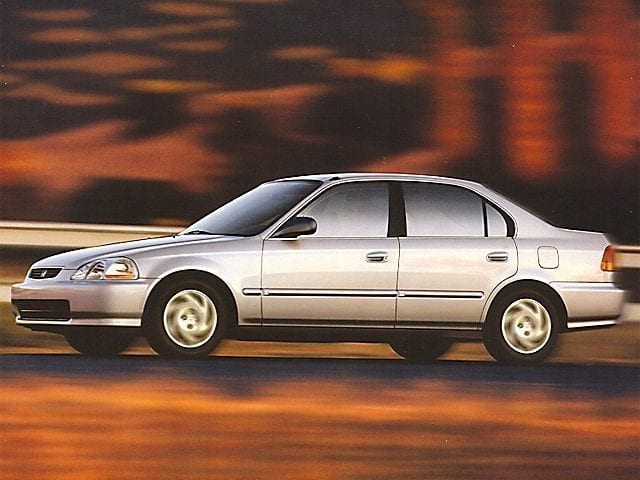 Photo Used 1999 Honda Civic Stock Number1584A For Sale  Trenton, New Jersey