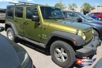 Pre-Owned 2007 Jeep Wrangler Unlimited X 4-Wheel Drive Convertible