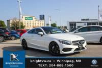Pre-Owned 2017 Mercedes-Benz C 300 Coupe AWD w/AMG Pkg/Nav/Burmester Sound/LED Pkg AWD 4MATIC 2dr Car