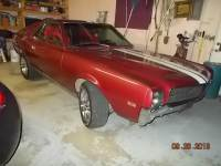 1968 Amc Amx Only 43,000 Original Miles-FREE SHIPPING