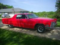 1967 Cadillac Calais -Red n Ready-VERY RELIABLE AND SOLID CADDY-