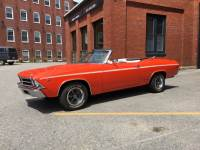 1969 Chevrolet Chevelle -HUGGER ORANGE CONVERTIBLE -RELIABLE/SOLID/CLEAN FUN MUSCLE CAR- SEE VIDEO