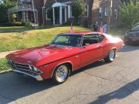 1969 Chevrolet Chevelle -BEAUTIFUL SS TRIBUTE- 396 V8 WITH 425HP/400 TURBO AUTOMATIC-