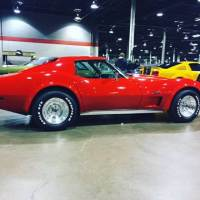 1975 Chevrolet Corvette -Red n Ready