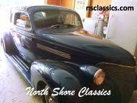 1939 Chevrolet Deluxe -2 DOOR COUPE - NEW INTERIOR-