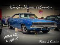 1968 Dodge Charger -R/T REAL HEMI J CODE VIN WITH 426/4SPD-RARE MUSCLE CAR-