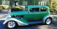 1933 Ford Vicky - FOAM GREEN STREET MACHINE-