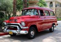 1956 GMC Suburban -DELUXE 100 SERIES-CALIFORNIA CLASSIC-WITH LOW MILES-RESTORED CONDITION-