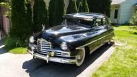 1950 Packard Super 8 - RARE FULTON SUN VISOR AND CORMORANT ORNAMENT -