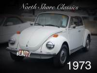 1973 Volkswagen Beetle -SUPER BEETLE TRIPLE WHITE CLEAN CONVERTIBLE-GREAT CONDITION-