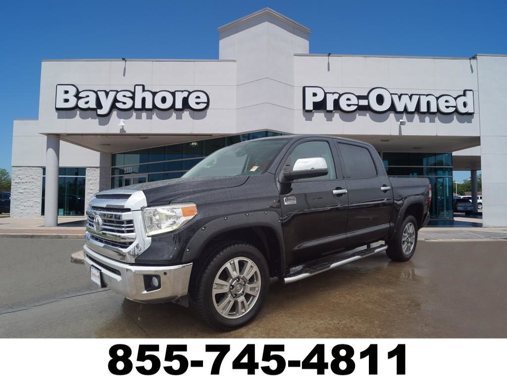 Photo 2014 Toyota Tundra 2WD 1794 Edition 5.7L V8 Truck Crew Max in Baytown, TX. Please call 832-262-9925 for more information.