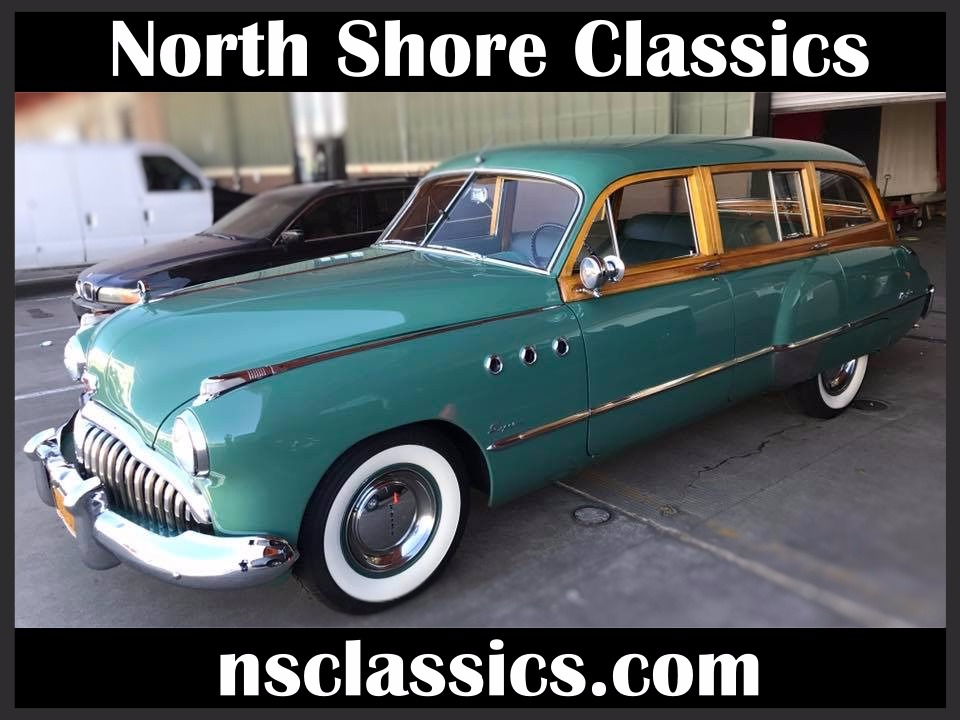 Photo 1949 Buick Series 50 -RARE WOODY WAGON- ONLY 653 BUILT-Super Estate Wagon