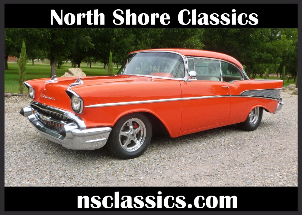 Photo 1957 Chevrolet Bel Air -400 HP - MSD - BUCKET SEATS- GREAT QUALITY DRIVER-