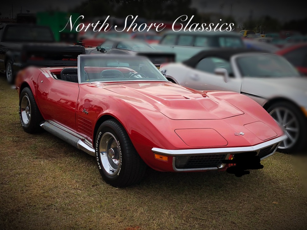 Photo 1970 Chevrolet Corvette -STINGRAY CONVERTIBLE-4 SPEED WITH SIDE PIPES- SEE VIDEO