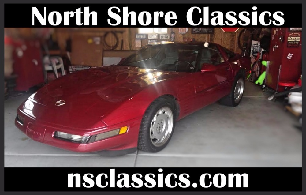 Photo 1992 Chevrolet Corvette -350 FUEL INJECTED CLASSIC-POWER SPORT LEATHER SEATS-