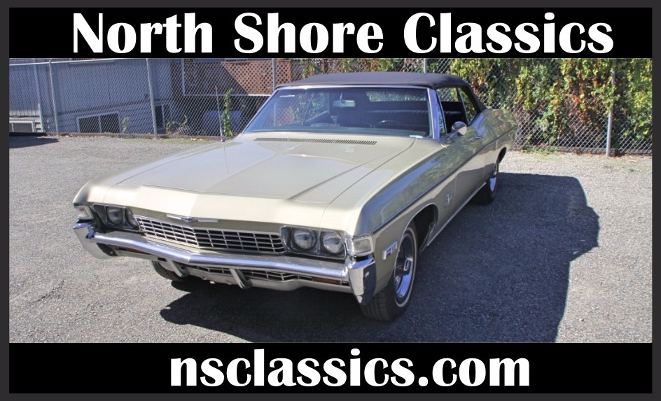 Photo 1968 Chevrolet Impala -CONVERTIBLE-396-2 OWNERS- NEW LOW PRICE