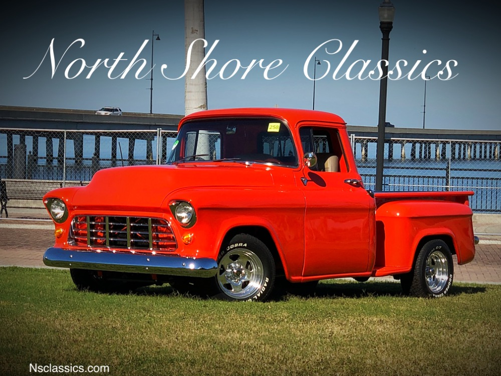 Photo 1957 Chevrolet Pickup 3100-HUGGER ORANGE- PICKUP- CUSTOM BED - FRAME OFF RESTORED - SEE VIDEO