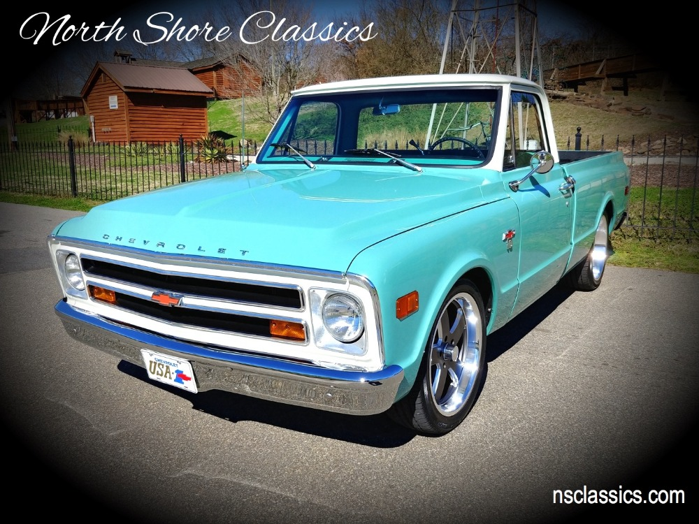 Photo 1968 Chevrolet Pickup -C10- SHORT BED- BIG WINDOW PICK UP - SEE VIDEO