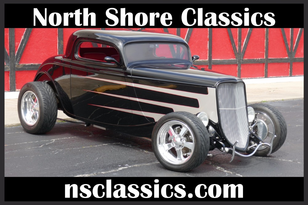 Photo 1933 Ford Coupe - LS1 V8 - PAUL ATKINS CUSTOM INTERIOR- SEE VIDEO
