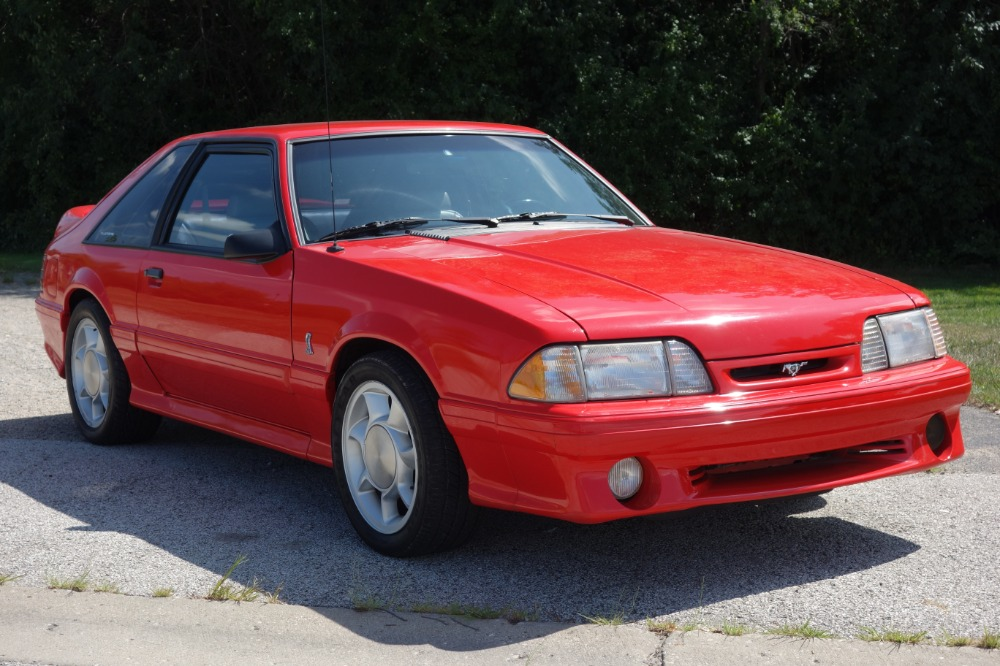 Photo 1993 Ford Mustang - COBRA SVT COUPE- 52k ORIGINAL LOW MILES - SEE VIDEO