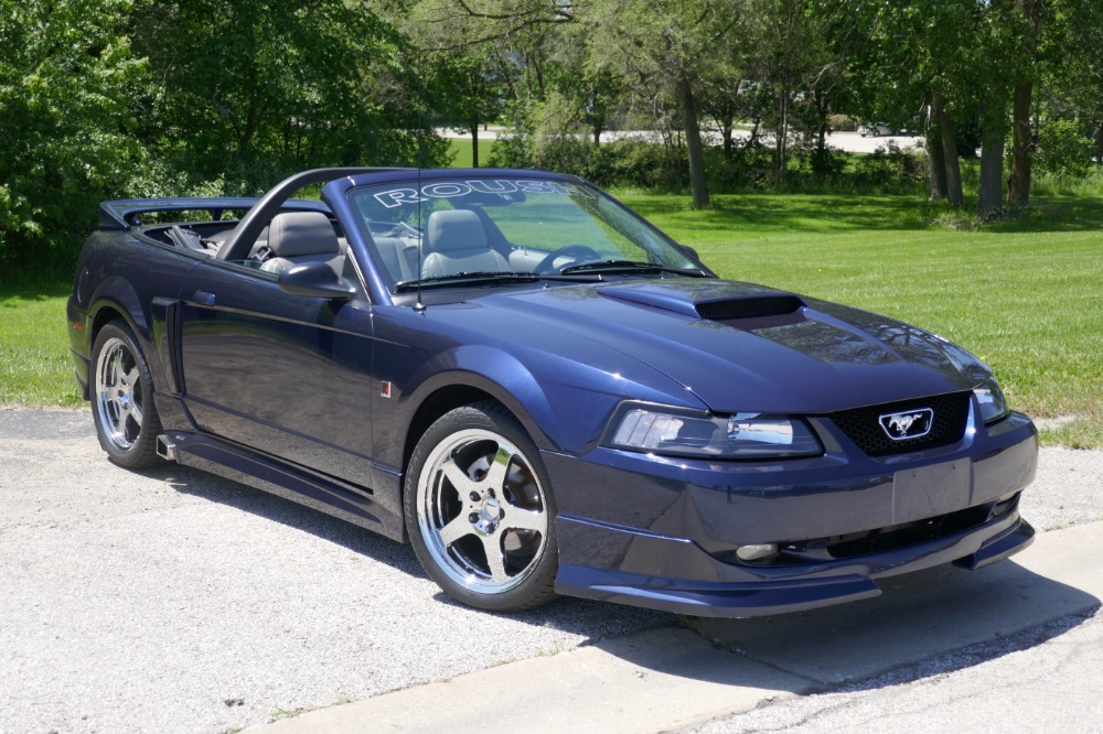 Photo 2001 Ford Mustang -ROUSH CONVERTIBLE EDITION-MINT CONDITION-SEE VIDEO-