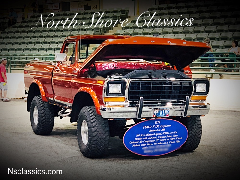 Photo 1979 Ford Pickup -F150-EXPLORER-WEST COAST 4X4-VERY GOOD CONDITION-