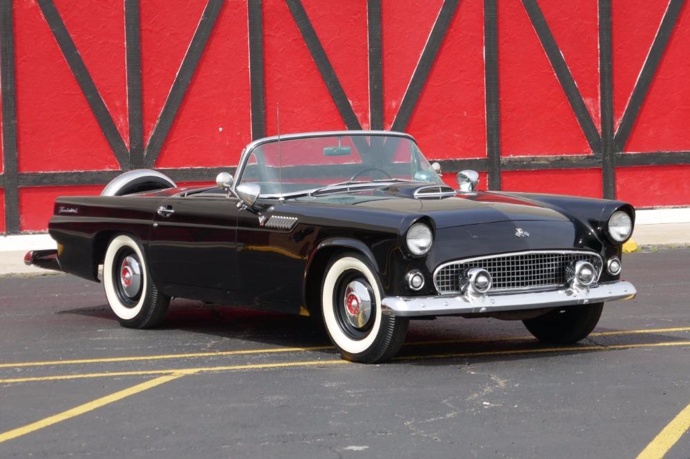 Photo 1955 Ford Thunderbird -ICONIC-AMERICAN-CLASSIC CONVERTIBLE-ORIGINAL SURVIVOR-