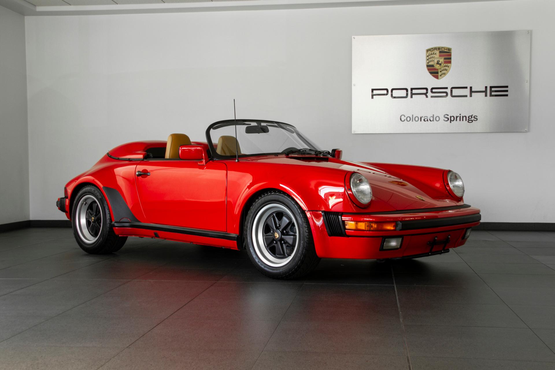 Photo 1989 Porsche 911 911 Speedster