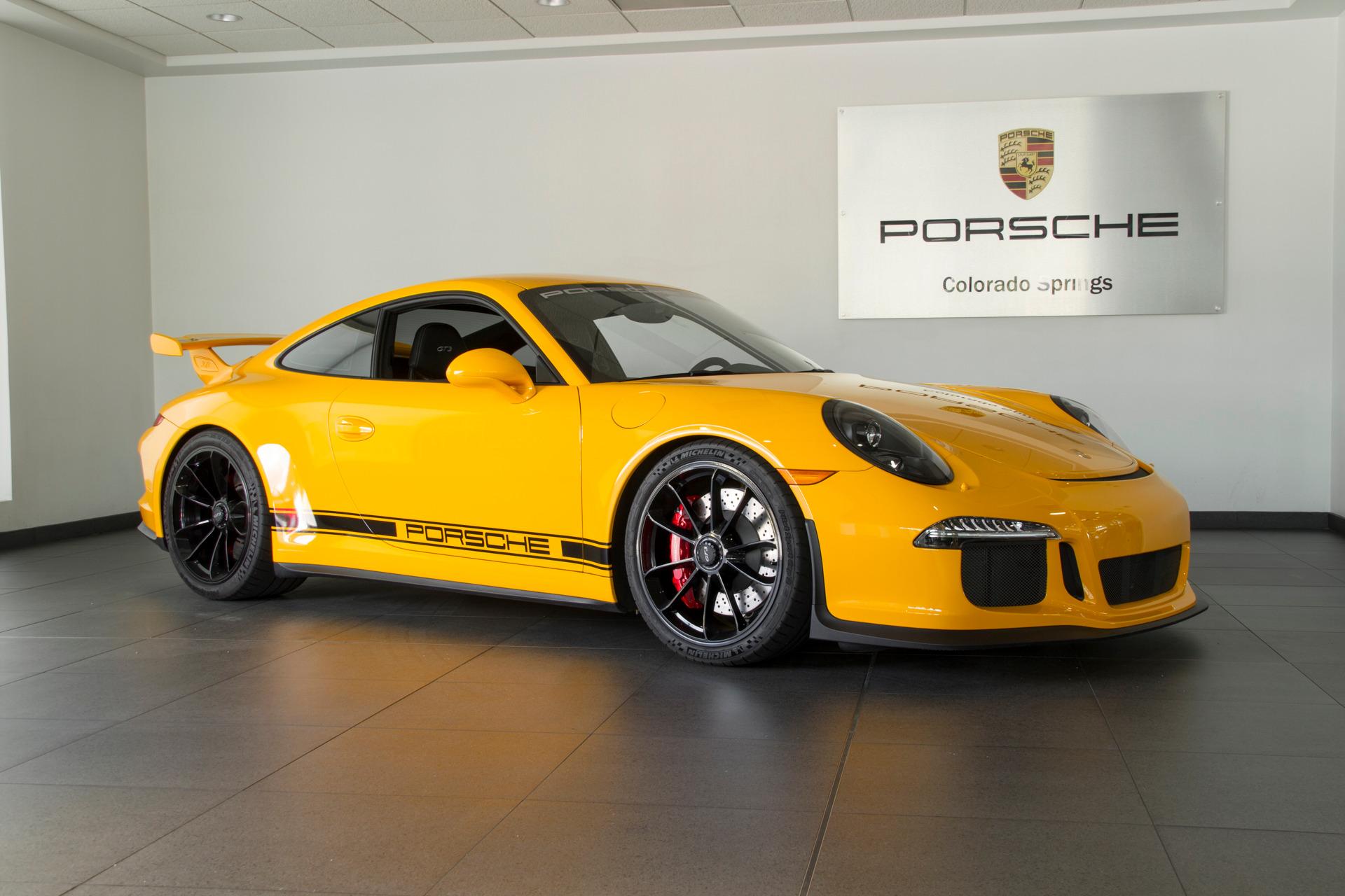 Photo 2015 Porsche 911 911 GT3