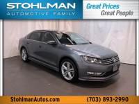 2015 Volkswagen Passat V6 SEL Premium For Sale | Tyson's Corner
