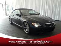 Pre-Owned 2007 BMW M6 Convertible in Greensboro NC